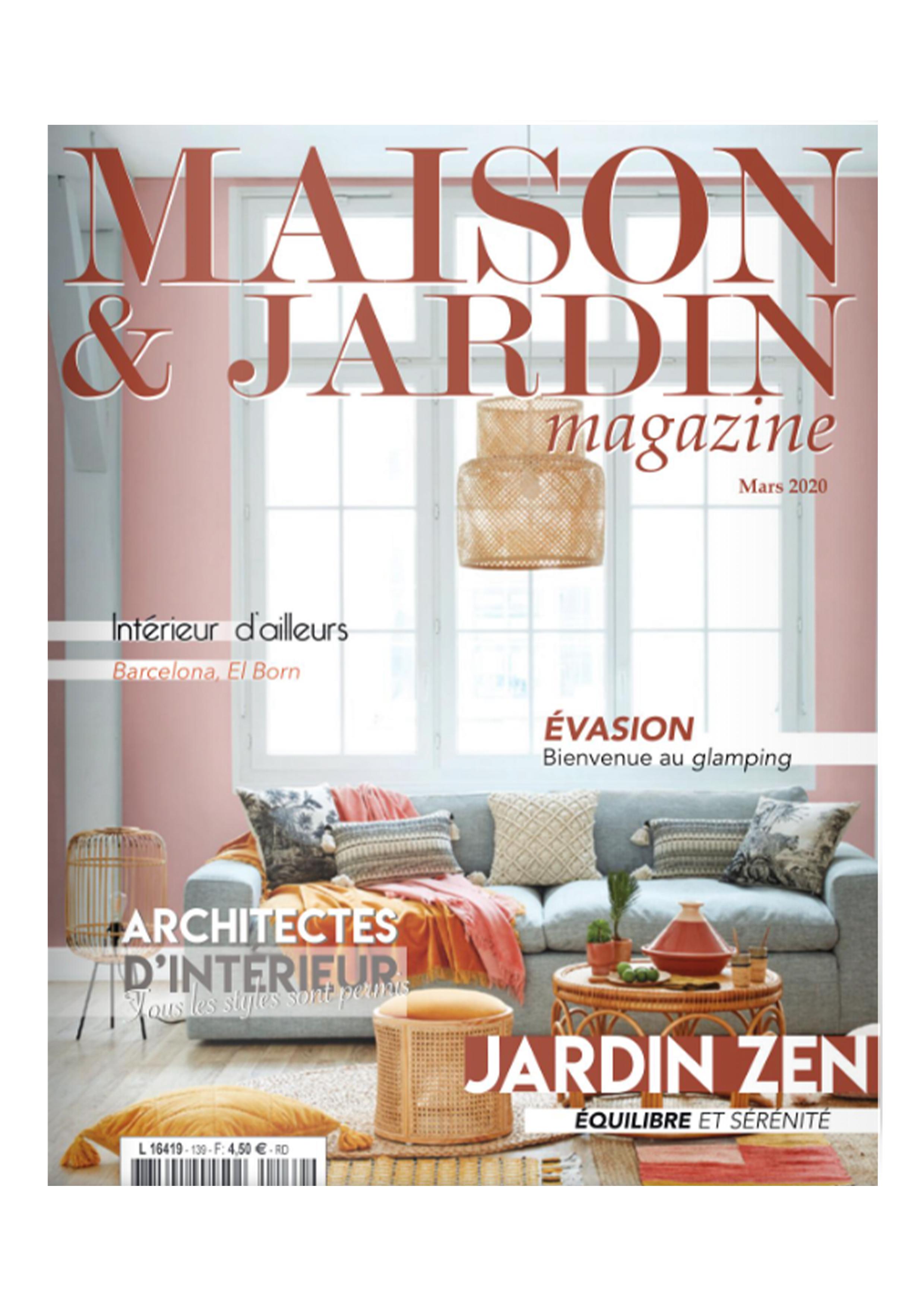 Masion&Jardin Magazine Simone Crestani
