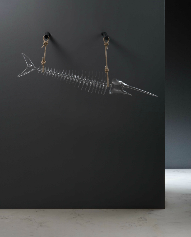 Fish glass trophy - Simone Crestani