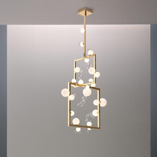 Bollicine chandelier